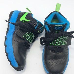 Nike Team Hustle D8 Black and Blue Sneaker 12C